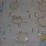 Sluníčko - práce z netradičního materiálu
