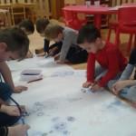 Výroba sněhuláků + ostrov sněhuláků