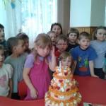 Anička má narozeniny