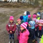 Na procházce - pozorujeme bagr v akci